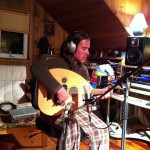 Ben Johnson in the Dog House Studio